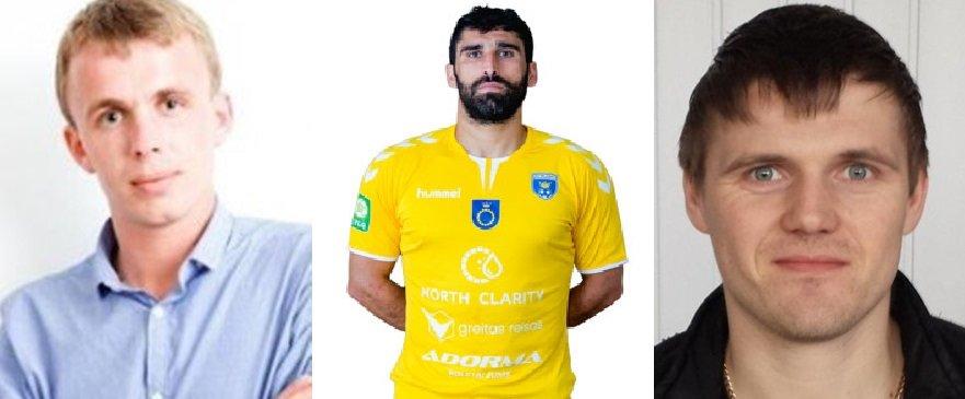 V.Grigjanas, G.Diakvnišvilis ir A.Zenkovas