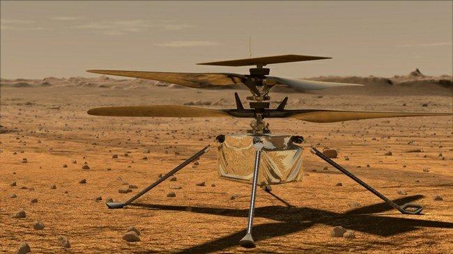 """Pirmasis Marso sraigtasparnis """"Ingenuity"""""""