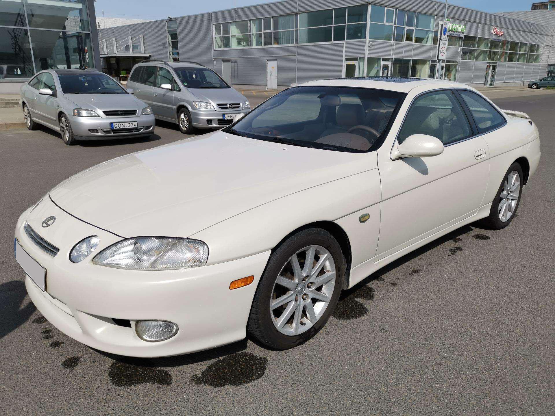 """Naudotas pirmos kartos """"Lexus SC"""" – legendinės """"Toyota Supra"""