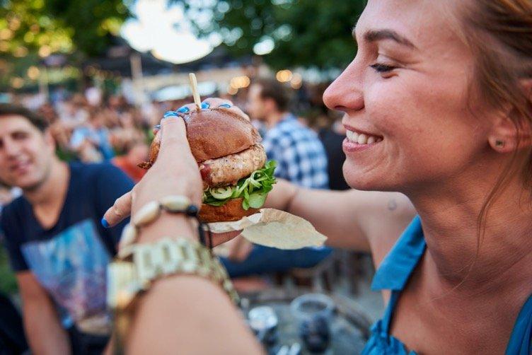 """""""Vilnius Burger Fest"""" aukciono akimirka"""