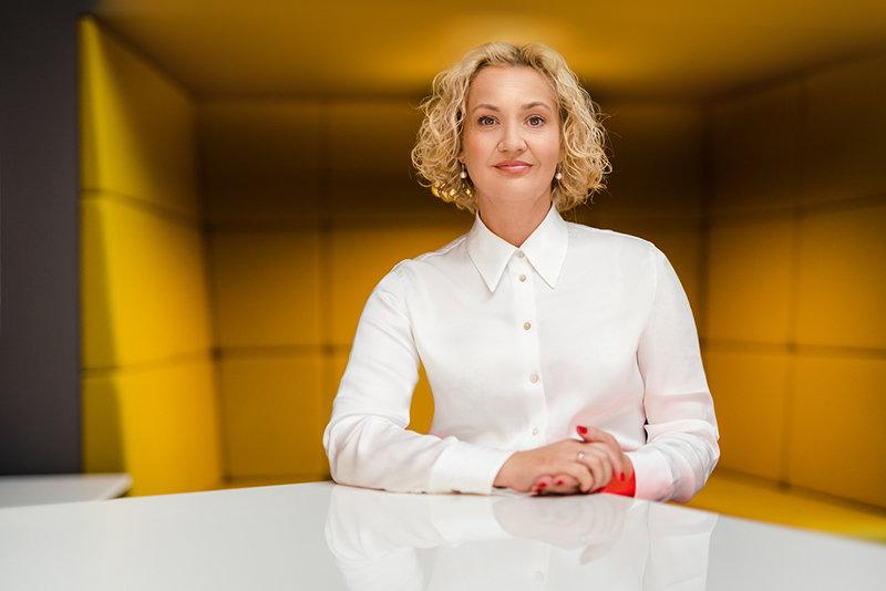 """Biuro ir HORECA baldų įmonių grupės """"Ergolain"""" vadovė Vilma Bružienė"""