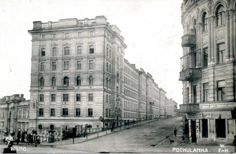 J. Basanavičiaus gatvė, 1912 metai.