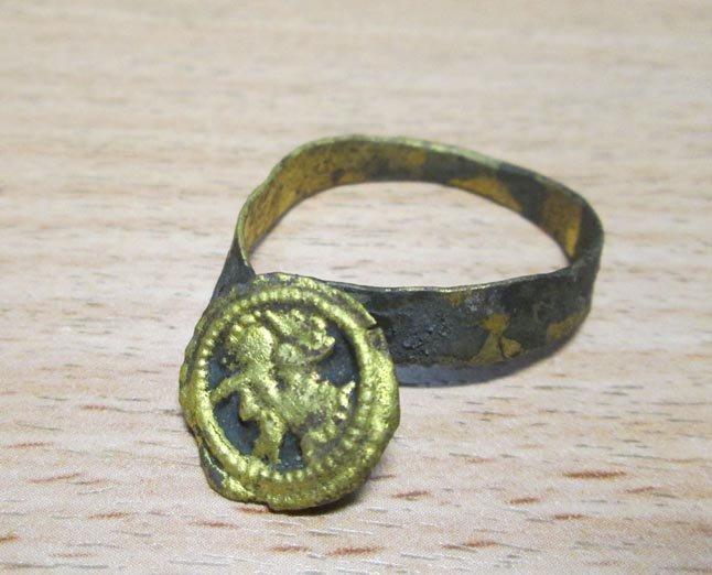 """Prie """"Meridiano"""" rastas žiedas"""