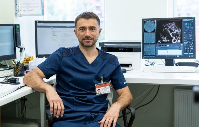 Respublikinės Vilniaus universitetinės ligoninės Intervencinės radiologijos skyriaus vedėjas Audrius Širvinskas
