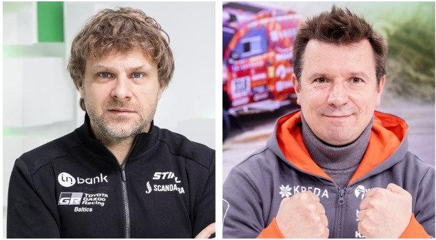 Benediktas Vanagas ir Antanas Juknevičius