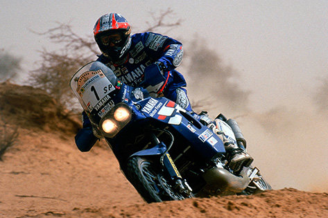Stephane'as Peterhanselis,  1998 m., šeštasis Dakaras, Yamaha XTZ850TRX