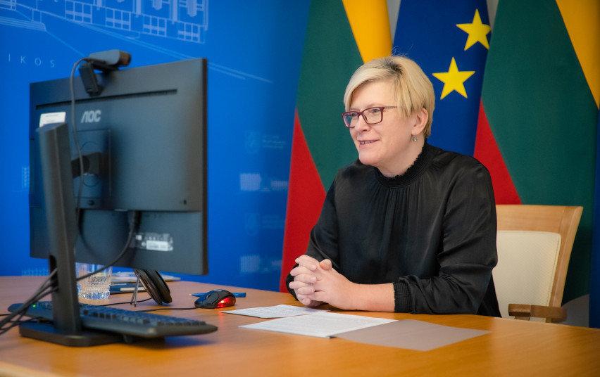 Vyriausybės nuotr. /Ingrida Šimonytė