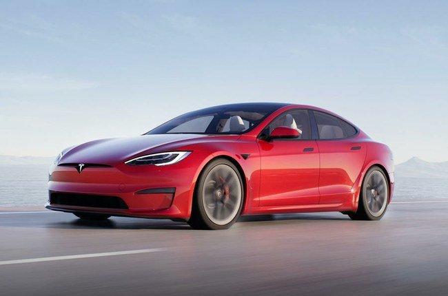 "Atnaujintas ""Model S"""