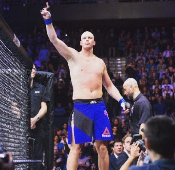 Stefanas Struve buvo aukščiausias UFC kovotojas.