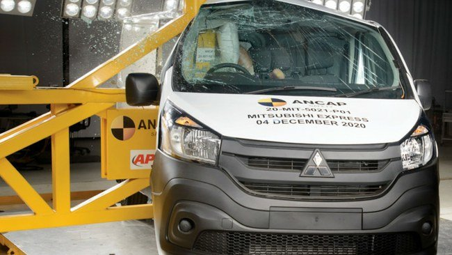 Mitsubishi Express ANCAP bandymuose