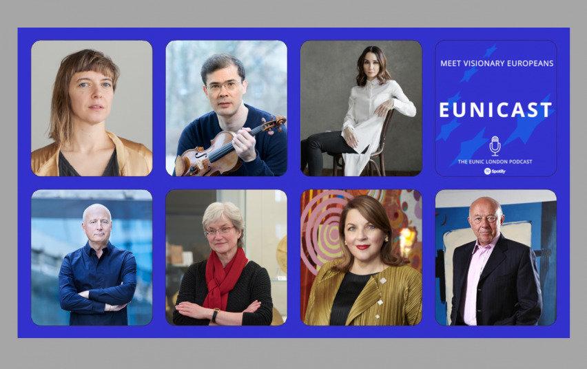 """Tinklalaidžių serija """"EUNICAST: susitikime su Europos vizionieriais"""""""