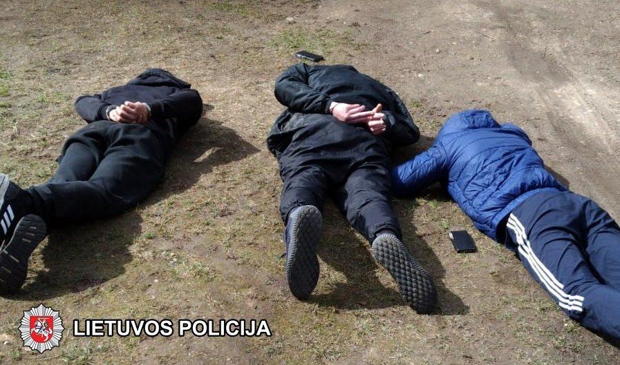 Išaiškintas sprogimas Vilniuje šv. Velykų naktį