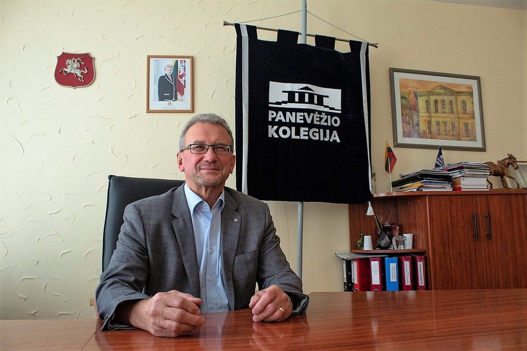 Panevėžio kolegijai antrą kadenciją vadovaus Gediminas Sargūnas