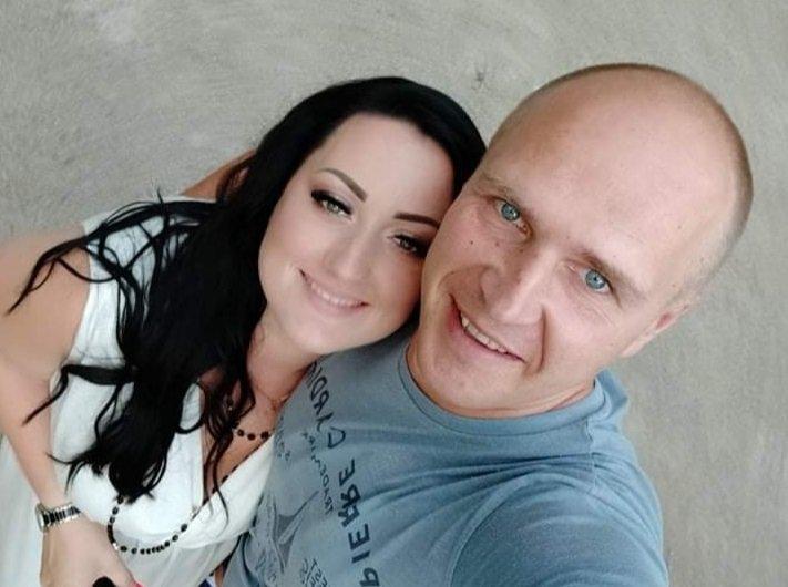 Oksana Vasion su vyru Nerijumi