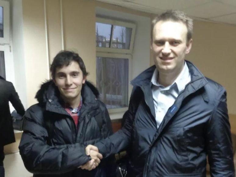 Andrejus Borovikovas ir Aleksejus Navalnas