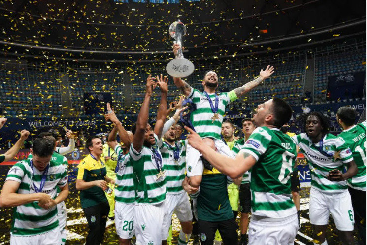 "Lisabonos ""Sporting"" triumfas"