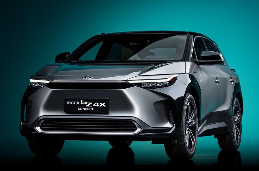 Koncepcija: Toyota bZ4X