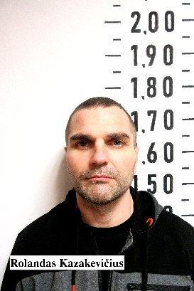 Rolandas Kazakevičius jau supančiotas: policija pagavo ir antrąjį Pravieniškių kalėjimo bėglį