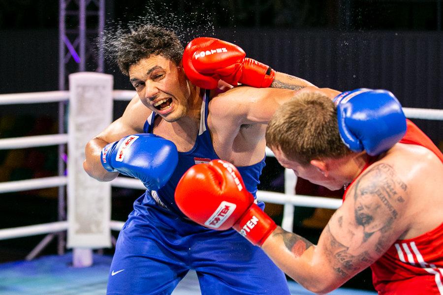 A.Šociko bokso turnyro akimirka.