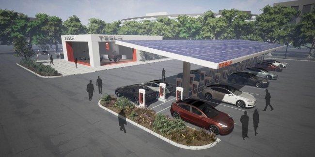 Tesla restoranas?