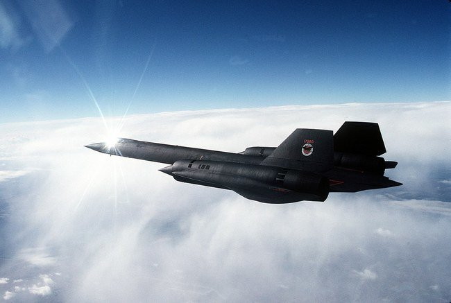 """Lockheed SR-71 Blackbird"""