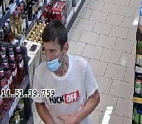 Vagystės iš Kauno parduotuvės tyrime ieškomas vyras