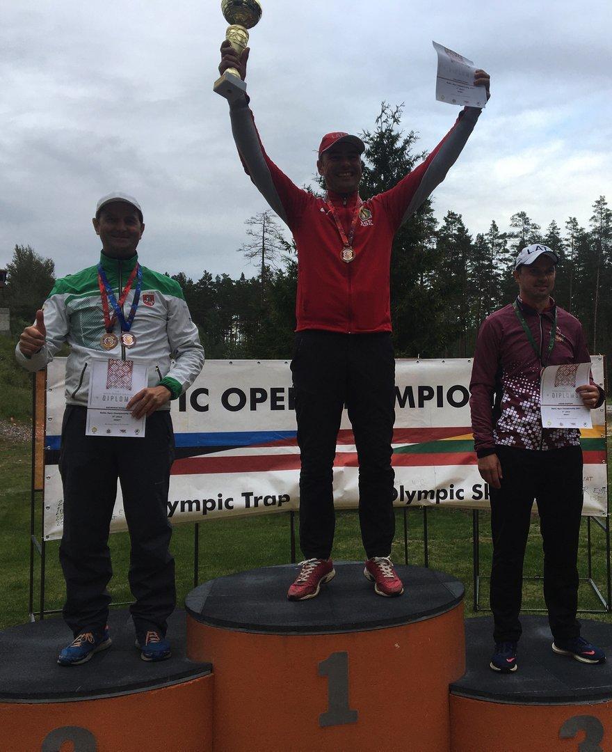 Baltijos šalių šaudymo į skraidančius taikinius čempionate – lietuvio sidabras