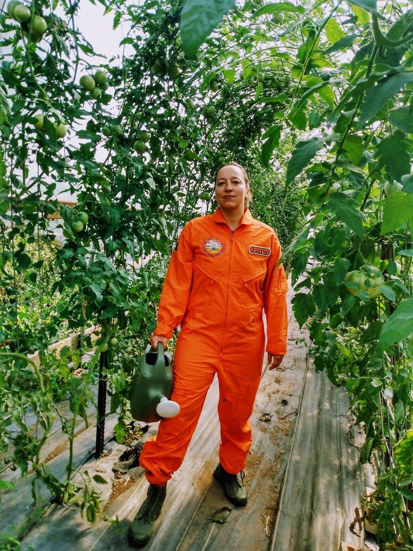 """JAV studijuojanti lietuvė Inga Popovaitė keliauja į """"Marsą"""" tyrinėti žmonių santykių"""
