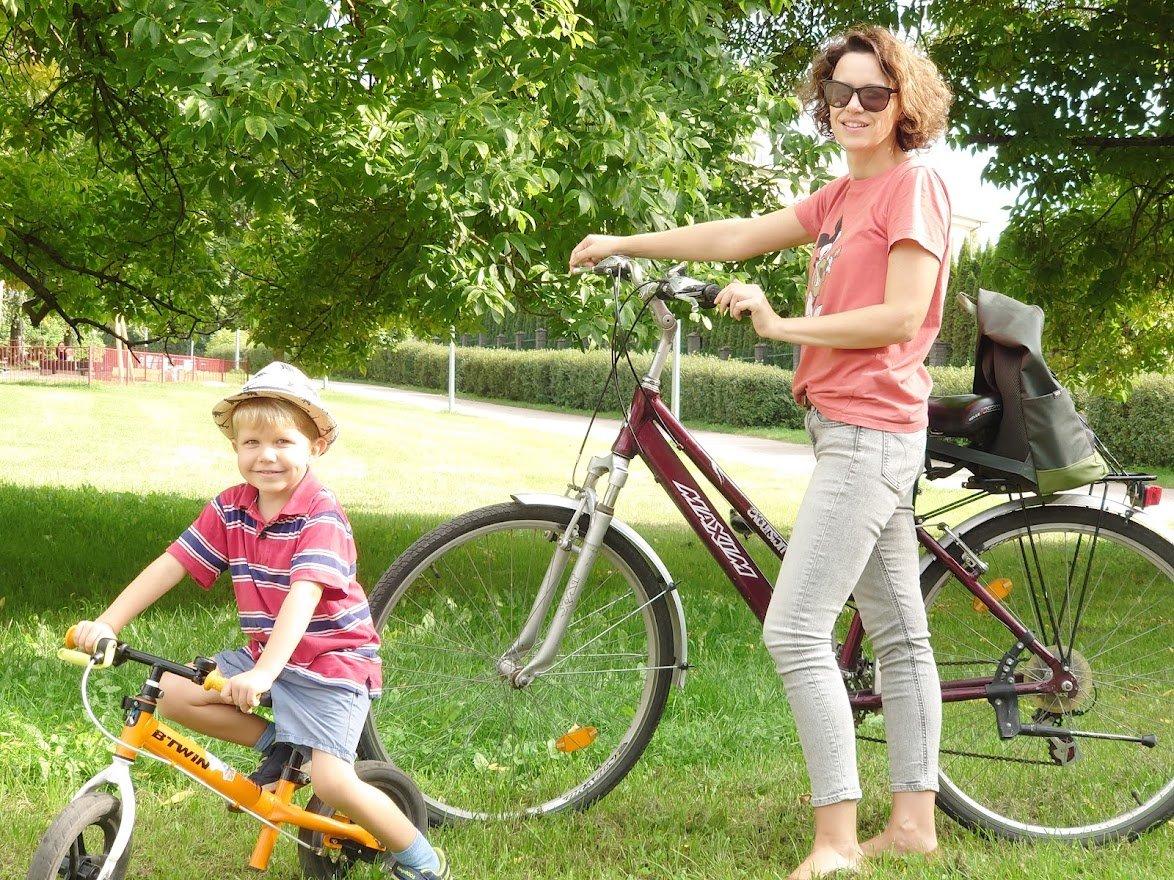 Per mėnesį daugiau kilometrų nuvažiuota dviračiu nei automobiliu