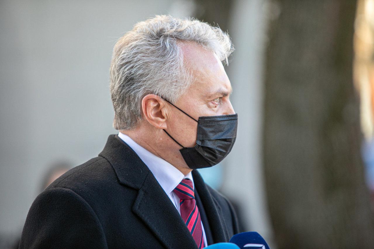 """G.Nausėda patvirtino, kad NATO viršūnių susitikimas Vilniuje """"jau nebėra fantazija"""""""