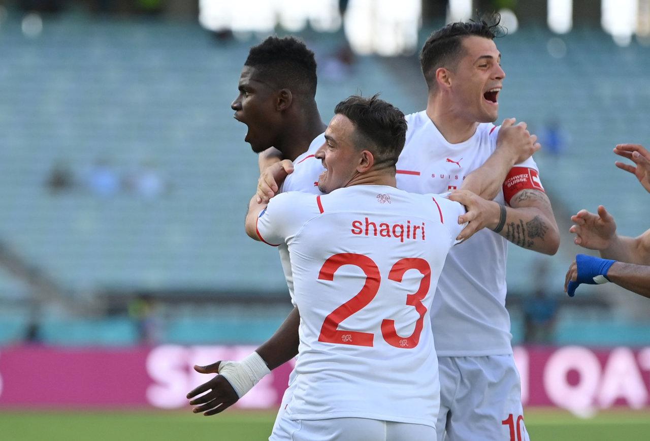 """""""Euro 2020"""": Velsas išplėšė lygiąsias prieš ilgą laiką dominavusius šveicarus"""