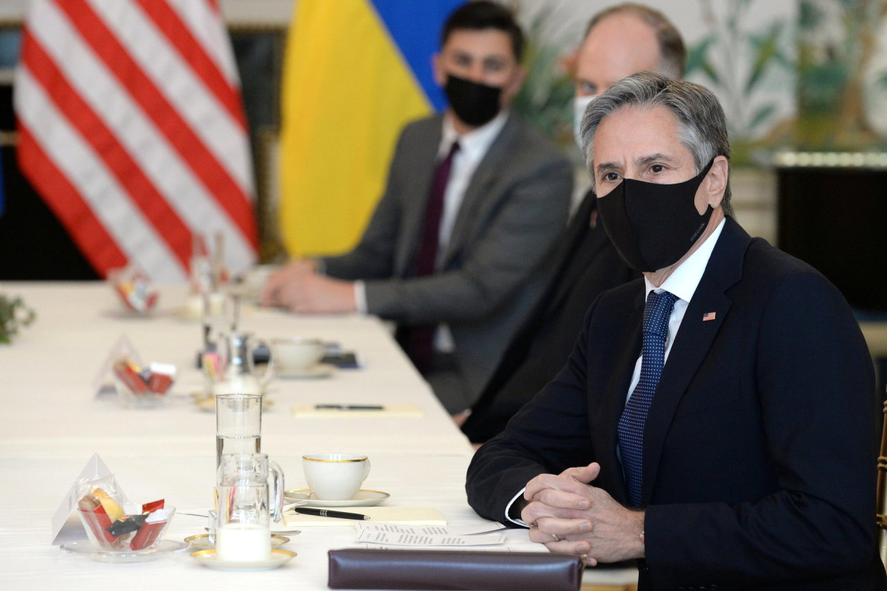 A.Blinkenas išreiškė palaikymą Kijevui, augant įtampai Ukrainos ir Rusijos pasienyje