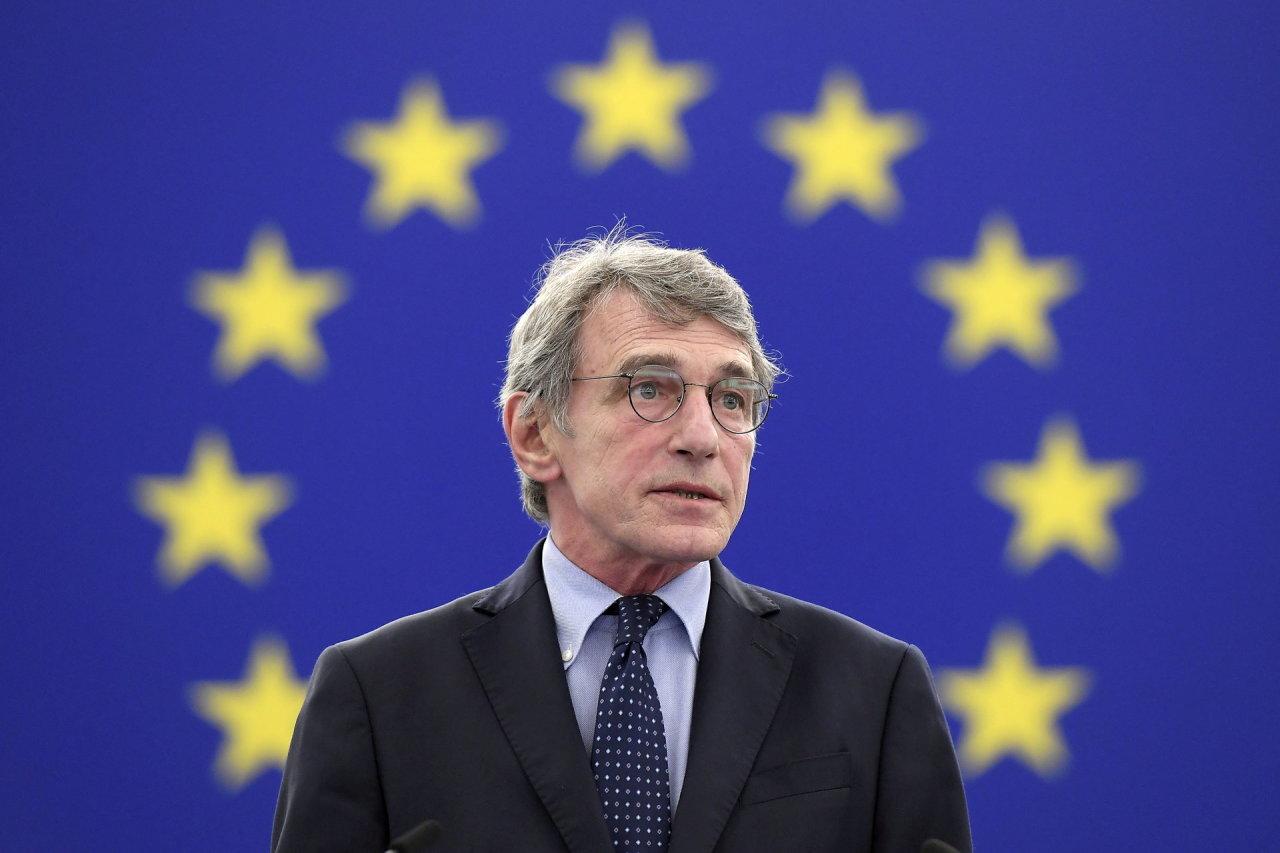 Europos Parlamento pirmininkas išrašytas iš ligoninės
