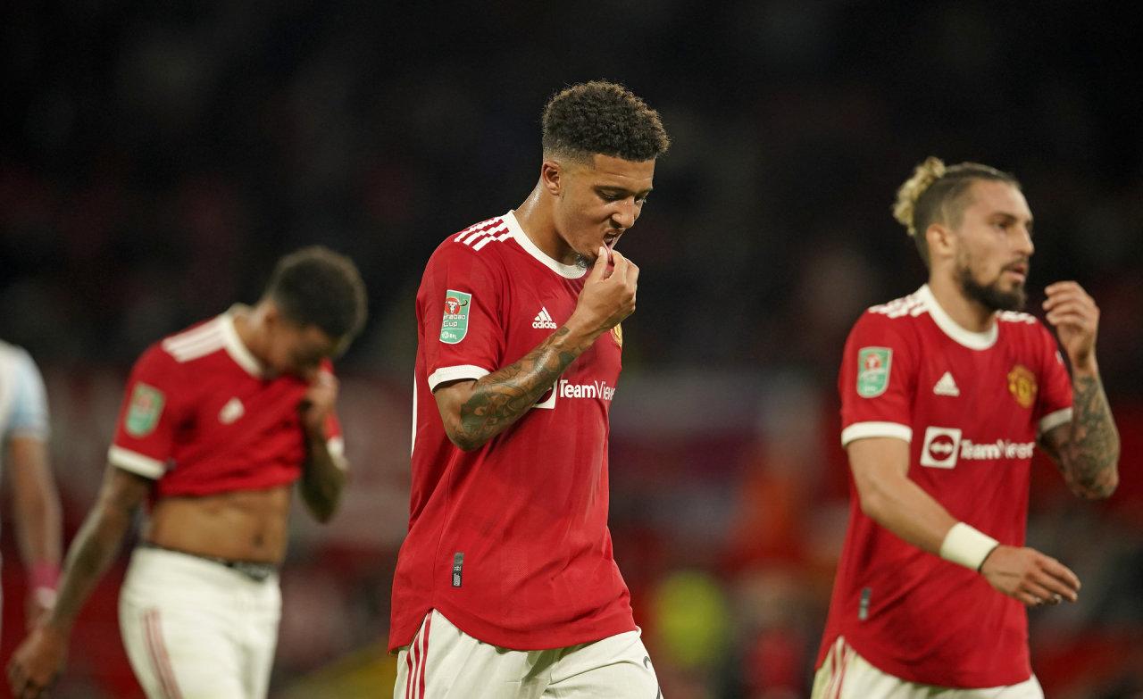 """Nėra C.Ronaldo, nėra įvarčių – """"Manchester United"""" išmesta iš lygos taurės"""