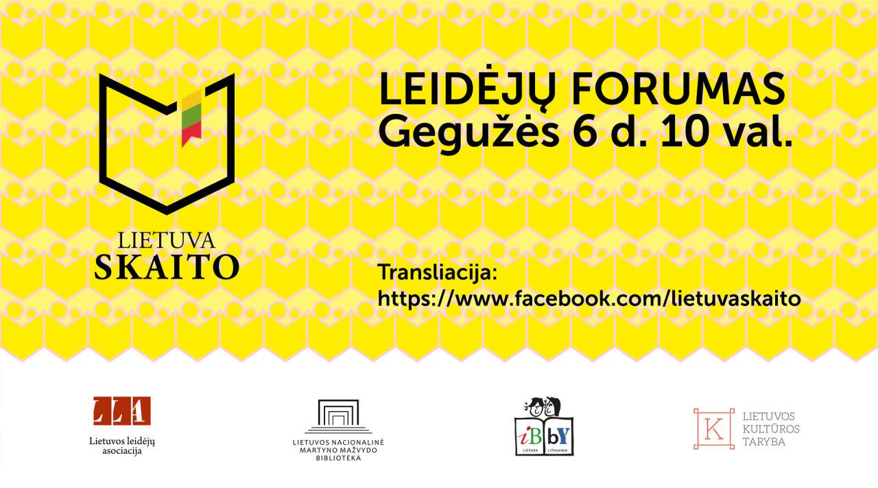Leidėjų forumas: nuo knygų visiems iki ateities skaitytojo