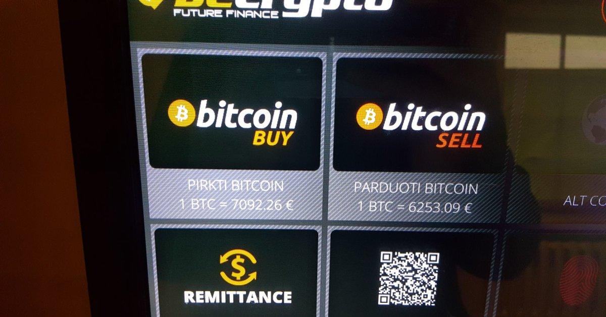 Kasyba bitkoinų prekybos