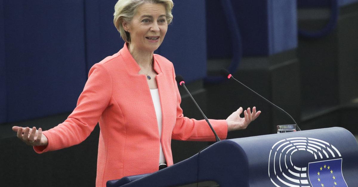 EK vadovė ir Prancūzijos prezidentas rengs ES viršūnių susitikimą dėl gynybos