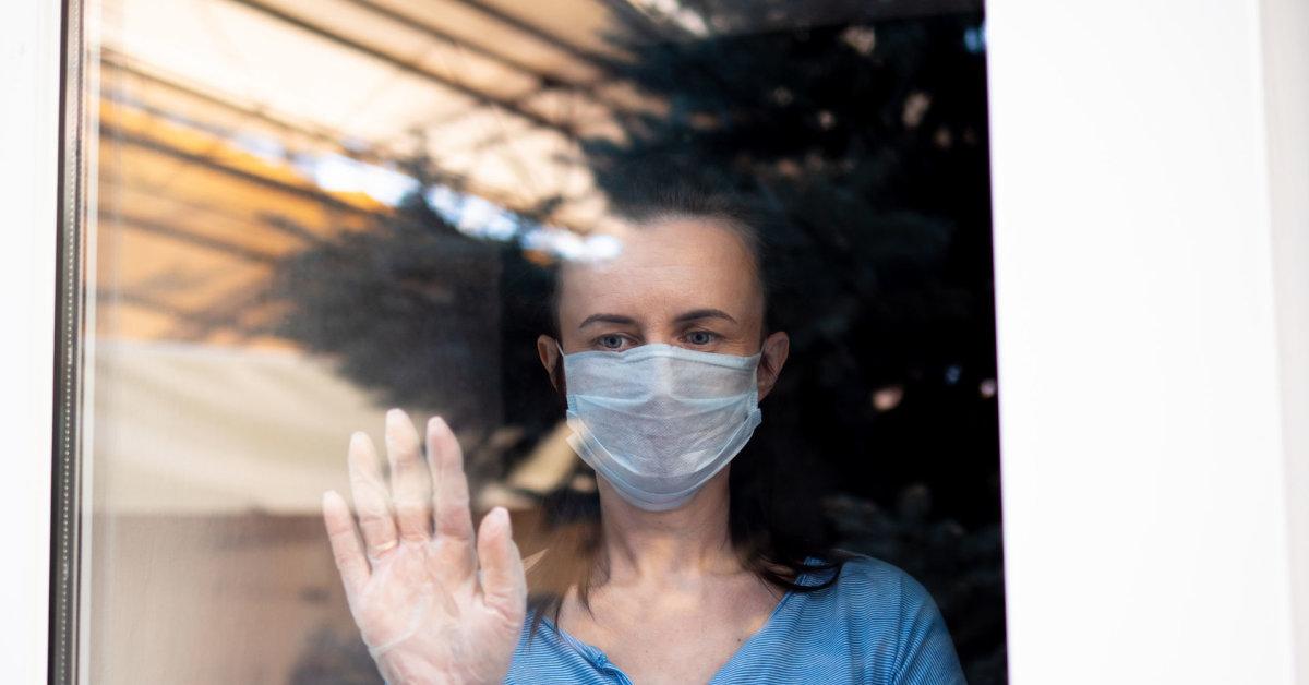 dirbti namuose ligos atveju)