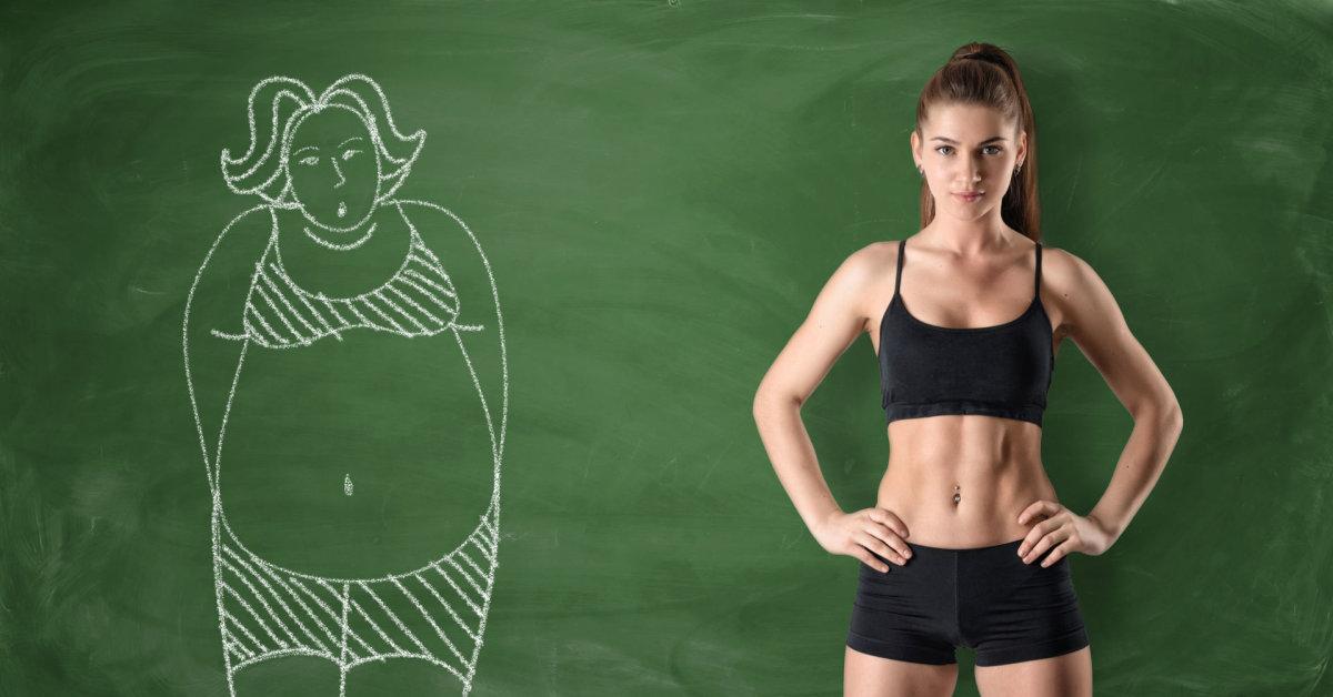 moterų kūno tipai ir svorio metimas