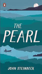 "Knygos viršelis/Knyga ""The Pearl"""