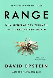 """Knygos viršelis/Knyga """"Range"""" Why Generalists Triumph in a Specialized World"""""""