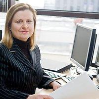 """""""Danske Bank"""" vyresnioji analitikė Baltijos šalims Violeta Klyvienė"""