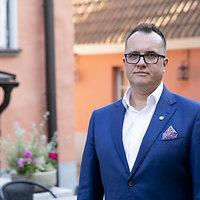 Estijos lietuvių bendruomenės valdybos pirmininkas Vaidas Matulaitis
