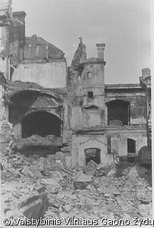 Vilniaus Didžiosios sinagogos griuvėsiai