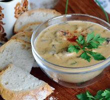 Vengriška tiršta pievagrybių sriuba
