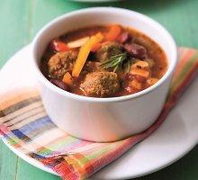 Meksikietiška sriuba su kukuliais