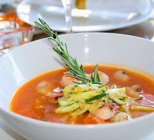 Karališka jūrų gėrybių sriuba