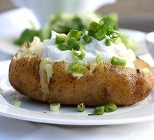 Vegetariškos bulvės