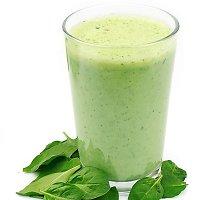 Žaliasis kiaulpienių kokteilis