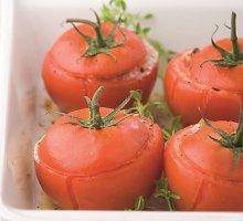 Turkiškai įdaryti pomidorai